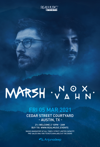 Nox Vahn and Marsh at Cedar Street